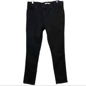 Levi's 311 Black Shaping Jeans 34